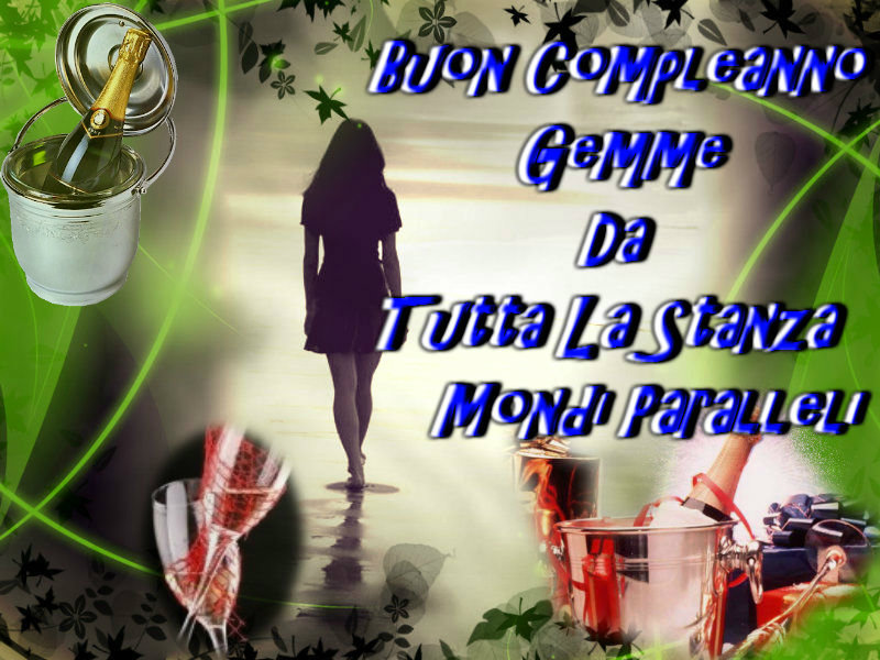 buon compleanno gemme
